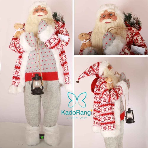 بابانوئل لباس بافتنی انعطاف پذیر