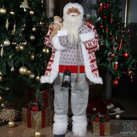 بابانوئل بزرگ لباس بافتنی