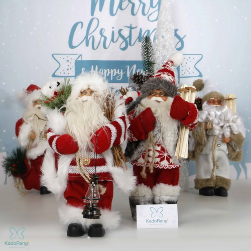 عروسک بابانوئل 30 سانت پلاستیکی کریسمس