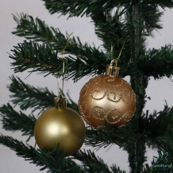 گوی آویز پلاستیکی کریسمس