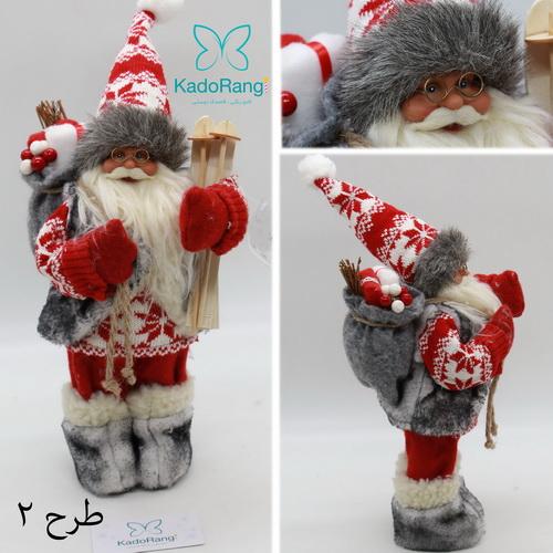 بابانوئل 30 سانت پلاستیکی کریسمس