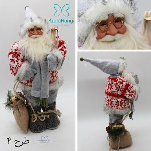 بابانوئل کریسمس با لباس بافتنی