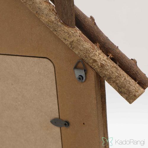 قاب عکس طرح خانه در کادو رنگی