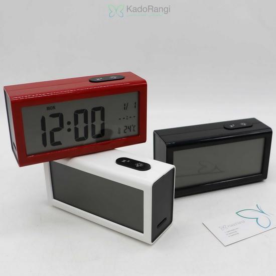 ساعت دیجیتال رومیزی باکسی کادورنگی