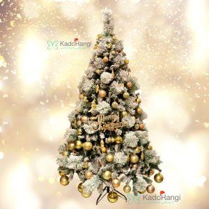 خرید اینترنتی درخت کریسمس 180 سانتی برفی