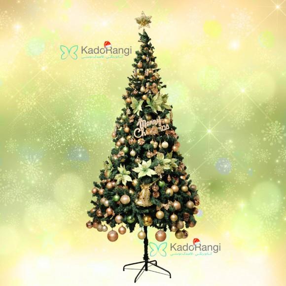 خرید اینترنتی درخت کریسمس 240 سبز
