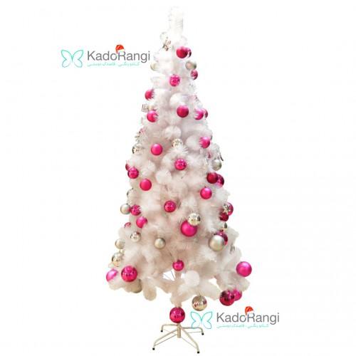 خرید اینترنتی درخت کریسمس 210 سانتی سفید