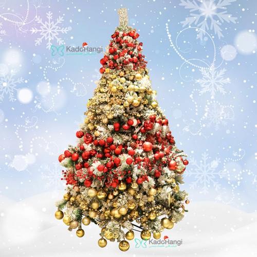 خرید اینترنتی درخت کریسمس 240 سانتی برفی